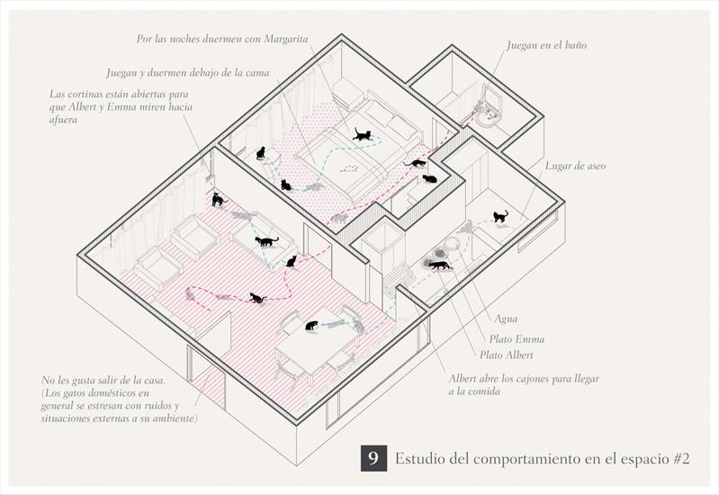Projeto de Arquitetura para Gatos / Oficina Informal, Cortesia de Oficina Informal