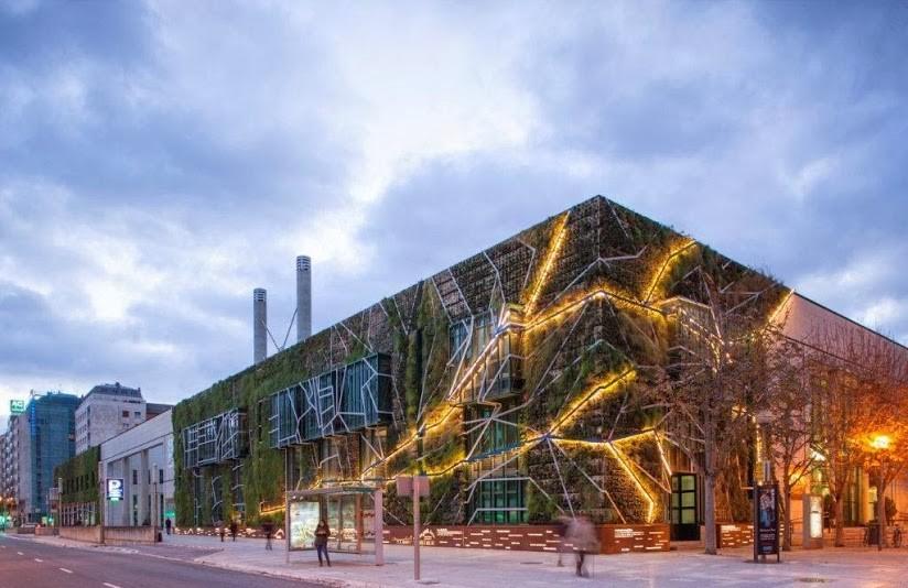 Galer a de arquitectura y paisaje jard n vertical del for Hotel jardines de uleta vitoria