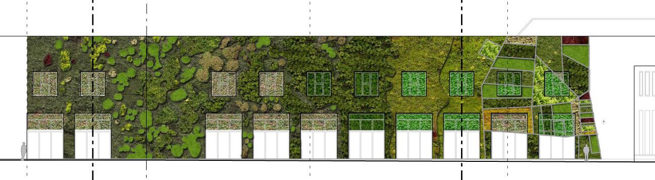 Arquitectura y paisaje jard n vertical del palacio de - Jardines verticales exterior ...