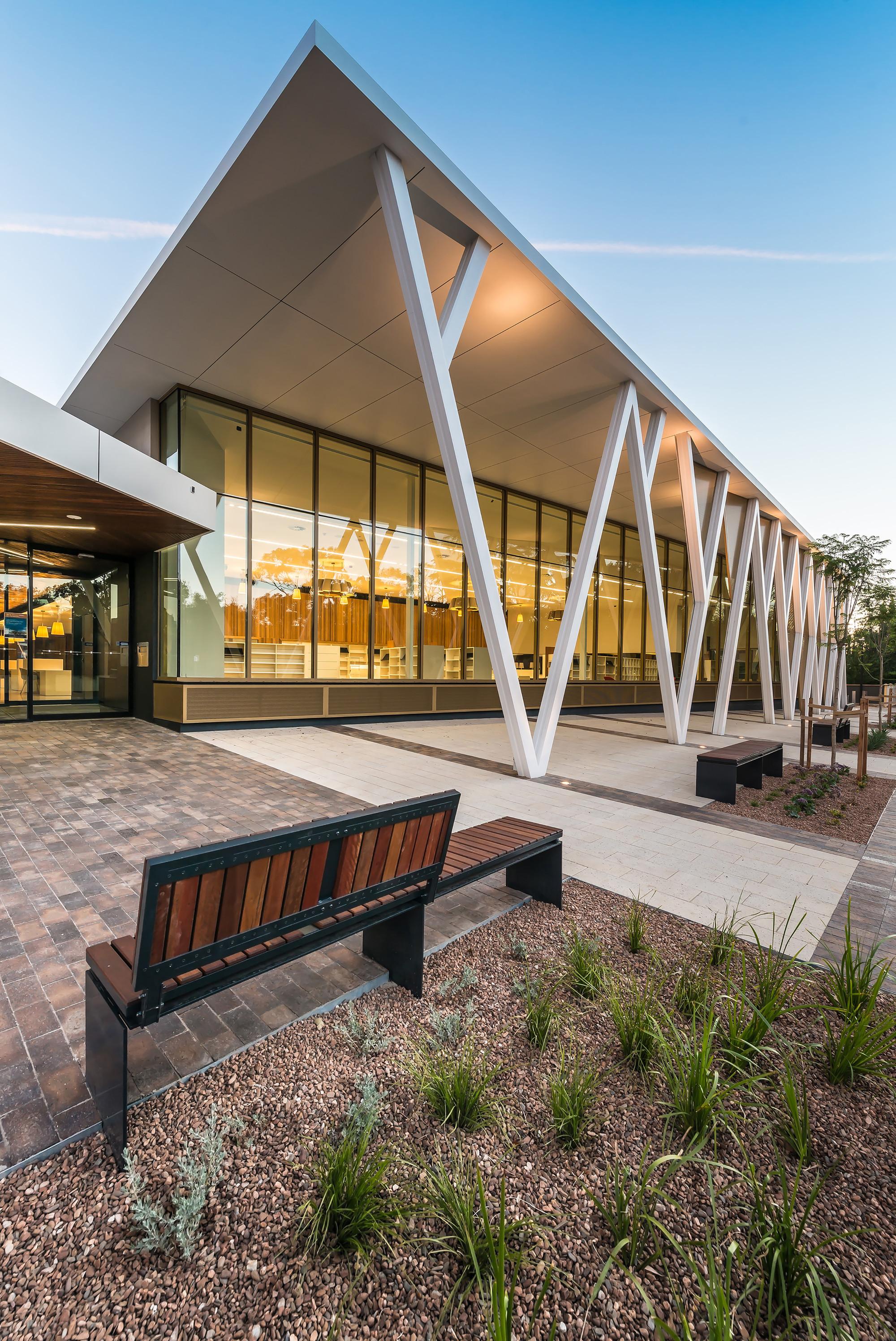 Walkerville civic community centre jpe design studio for The design studio