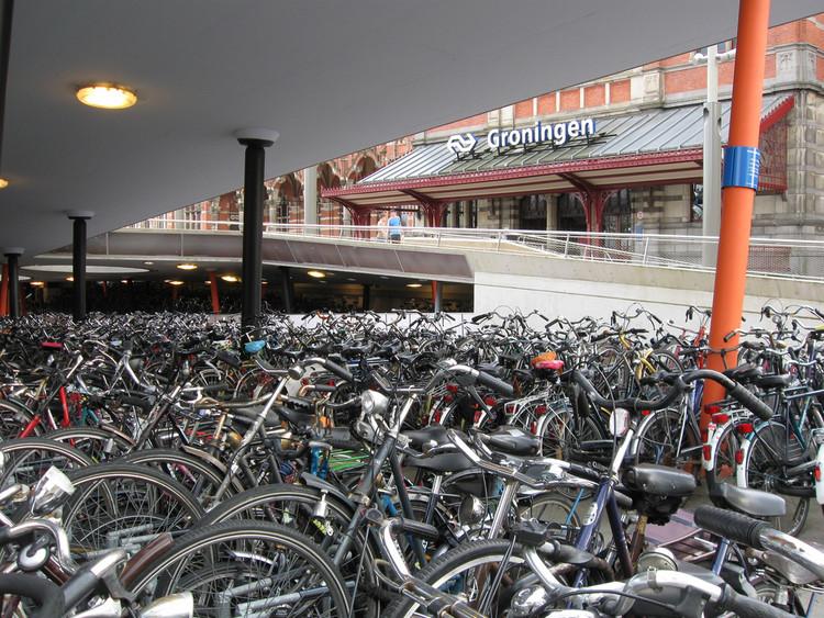 Como Groningen impulsionou o uso da bicicleta como transporte urbano, © Daniel Sparing, Flickr