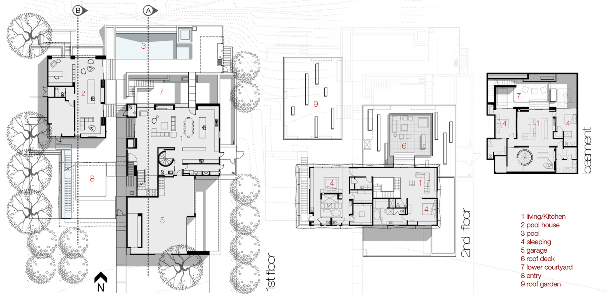 Gallery of tresarca assemblagestudio 29 for Las vegas house plans