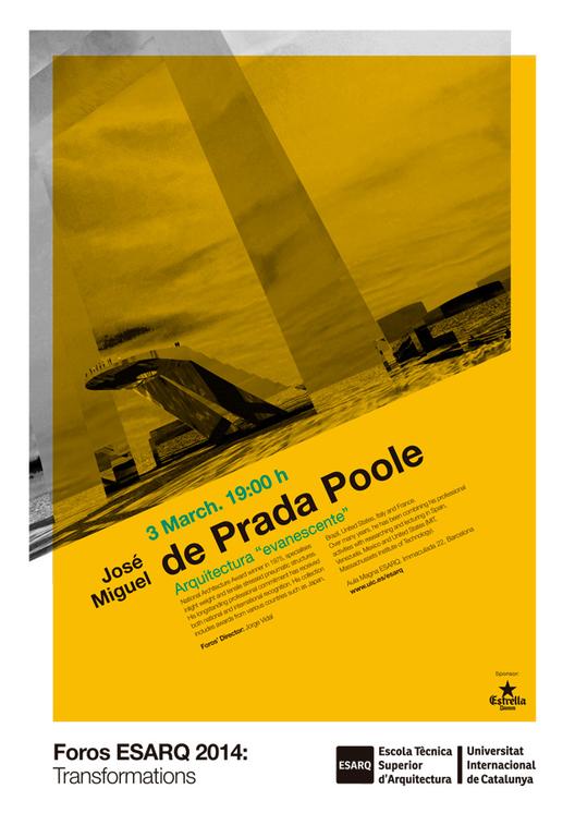 """""""Arquitectura Evanescente"""" Conferencia de José Miguel de Prada  Poole / España"""