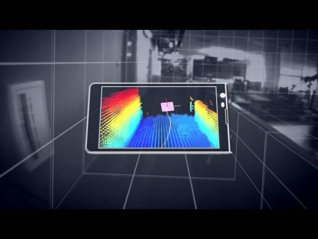 Vídeo: um dispositivo móvel que cria um modelo 3D do ambiente a nossa volta