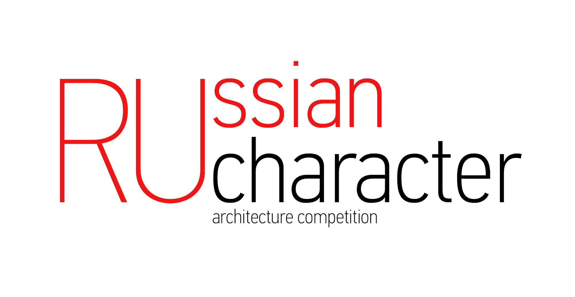 Russian Character International Architecture Competition