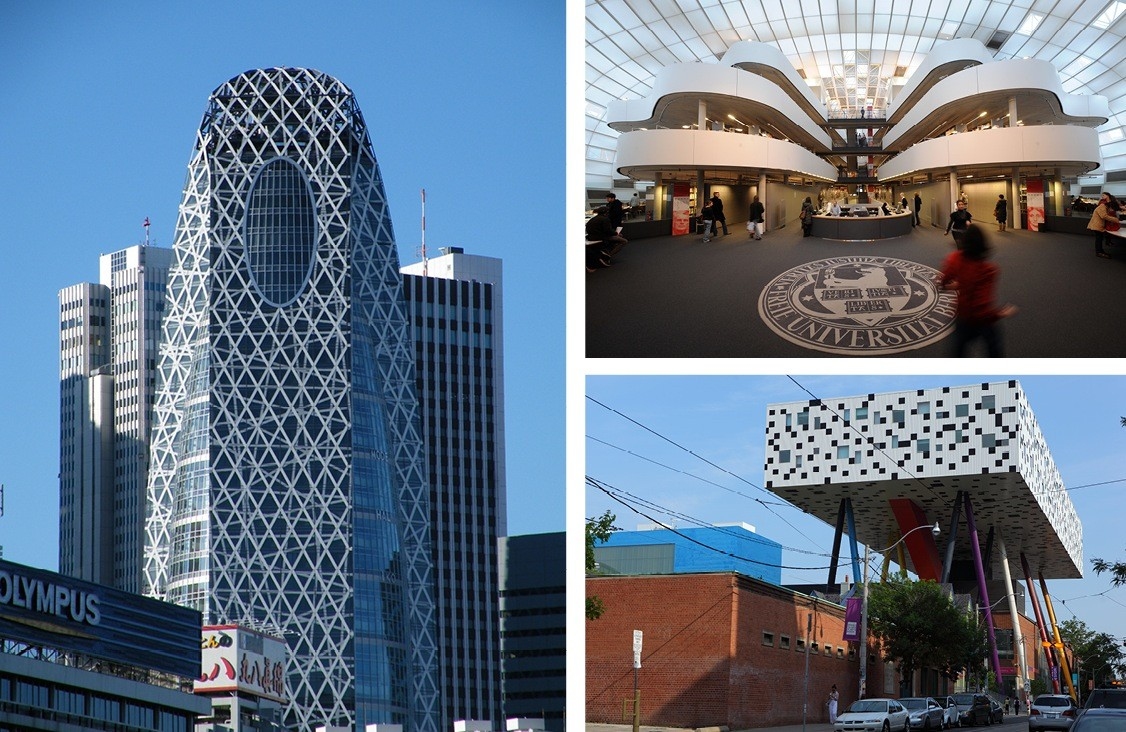 Grade A Architecture: The World's Most Spectacular University Buildings
