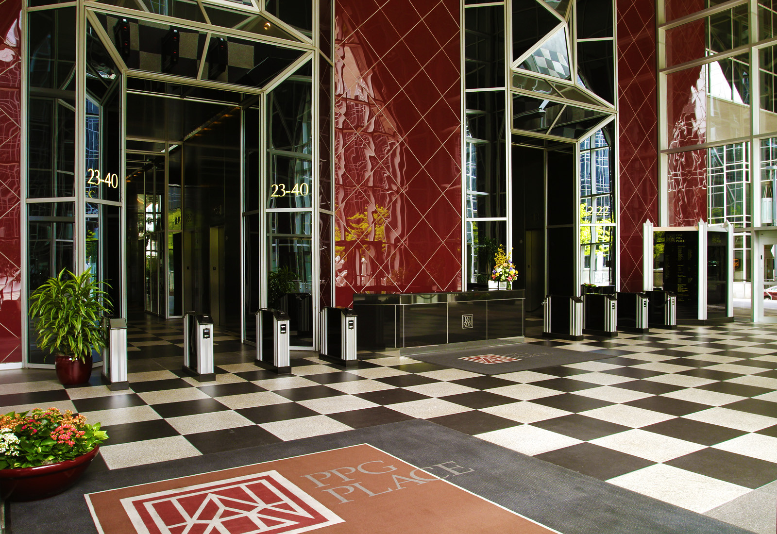 Ad Classics Ppg Place John Burgee Architects With