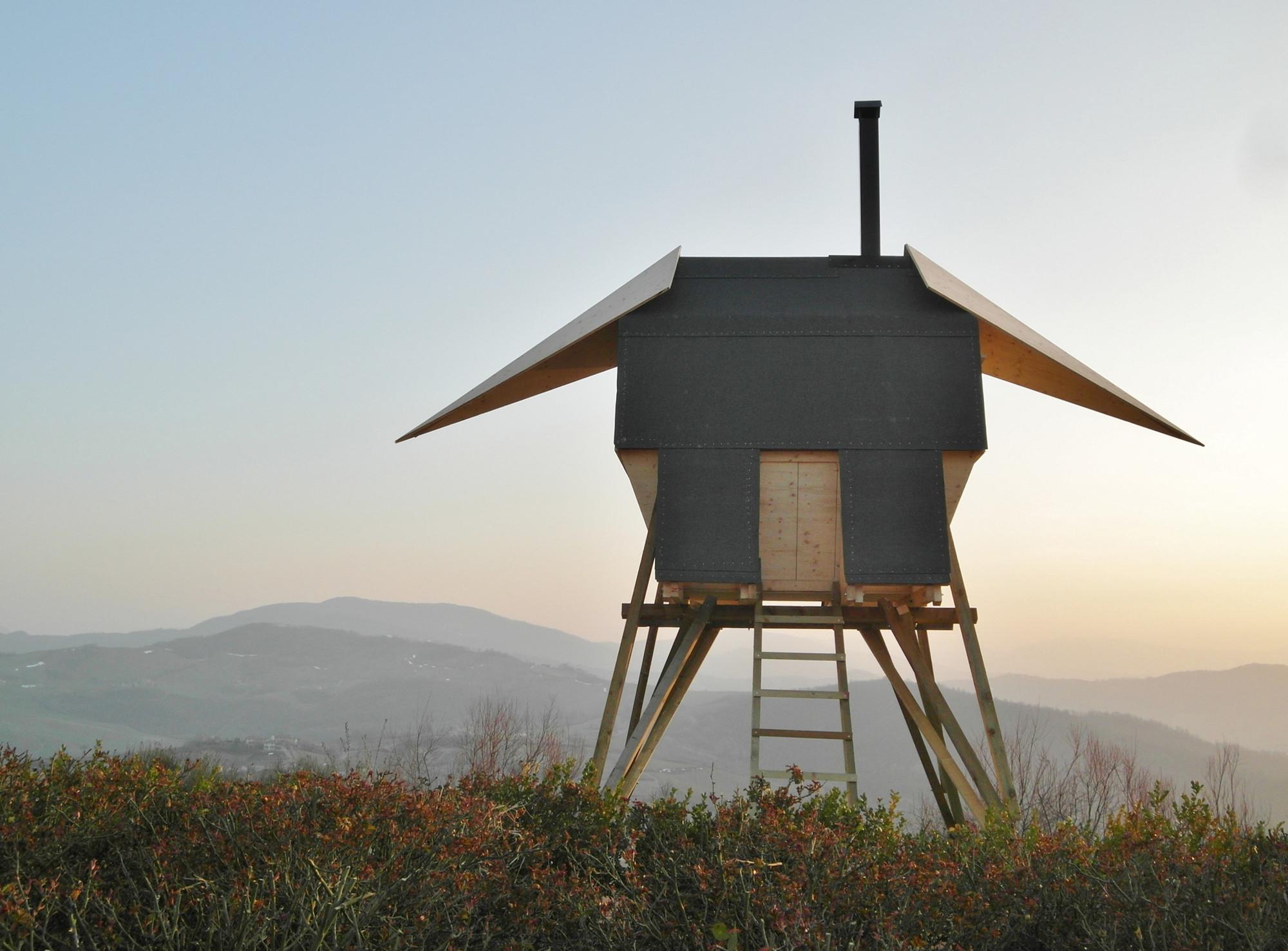 Sauna Huginn & Muninn / AtelierFORTE, Courtesy of AtelierFORTE