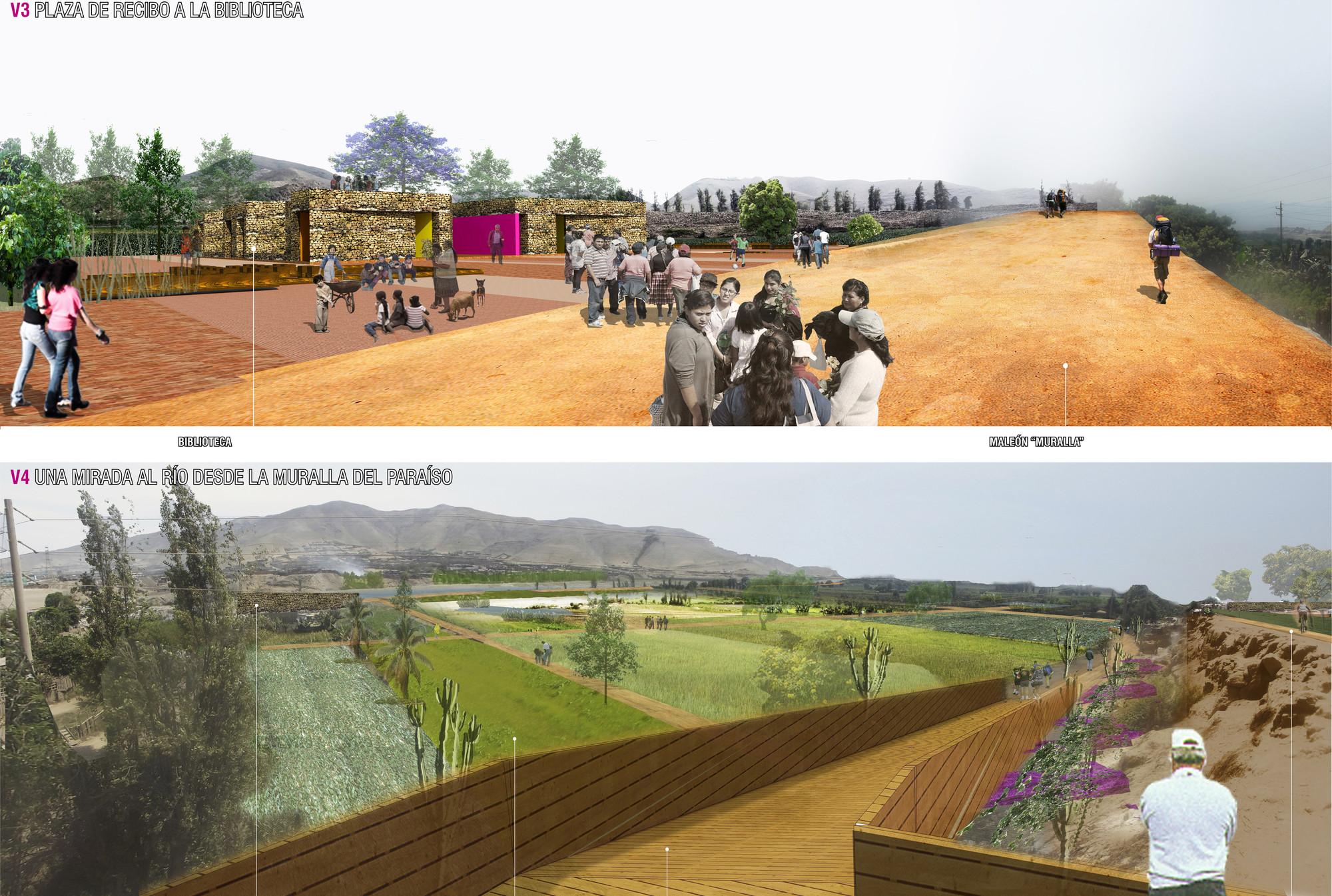 Segundo y Tercer Lugar Concurso Juan Günther en Lima, Perú, Courtesy of ESTUDIO SHICRAS