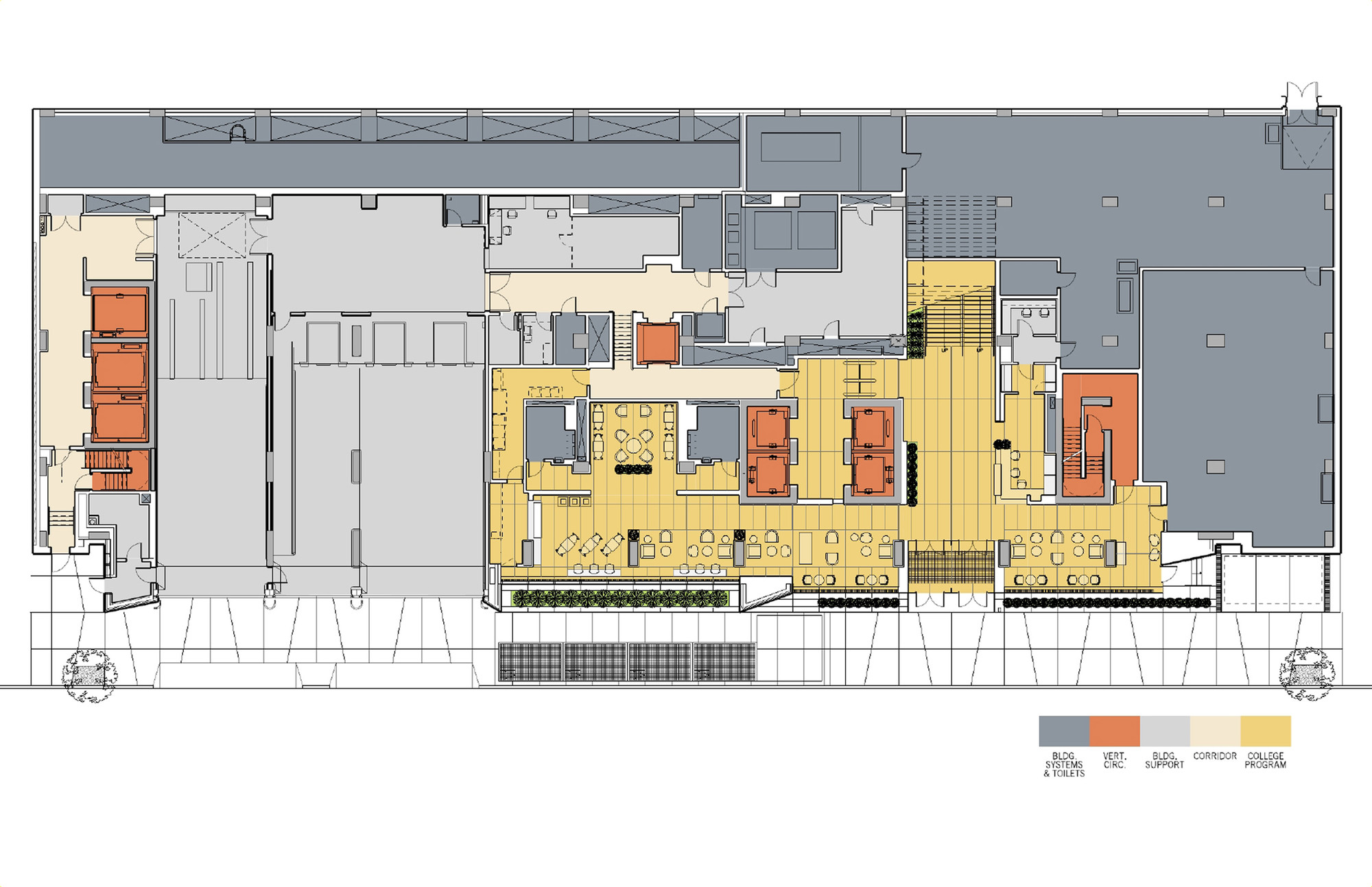 Weill Cornell Medical College Ennead Architects on Medical Office Building Floor Plans