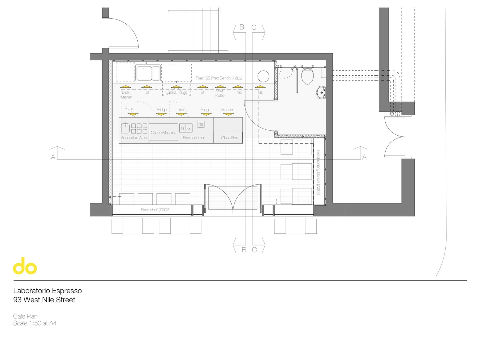 Draw A Floor Plan To Scale Gallery Of Laboratorio Espresso Do Architecture 11