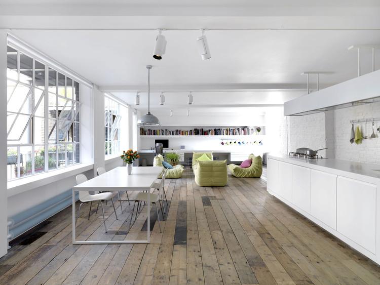 Bermondsey warehouse loft apartment form design architecture