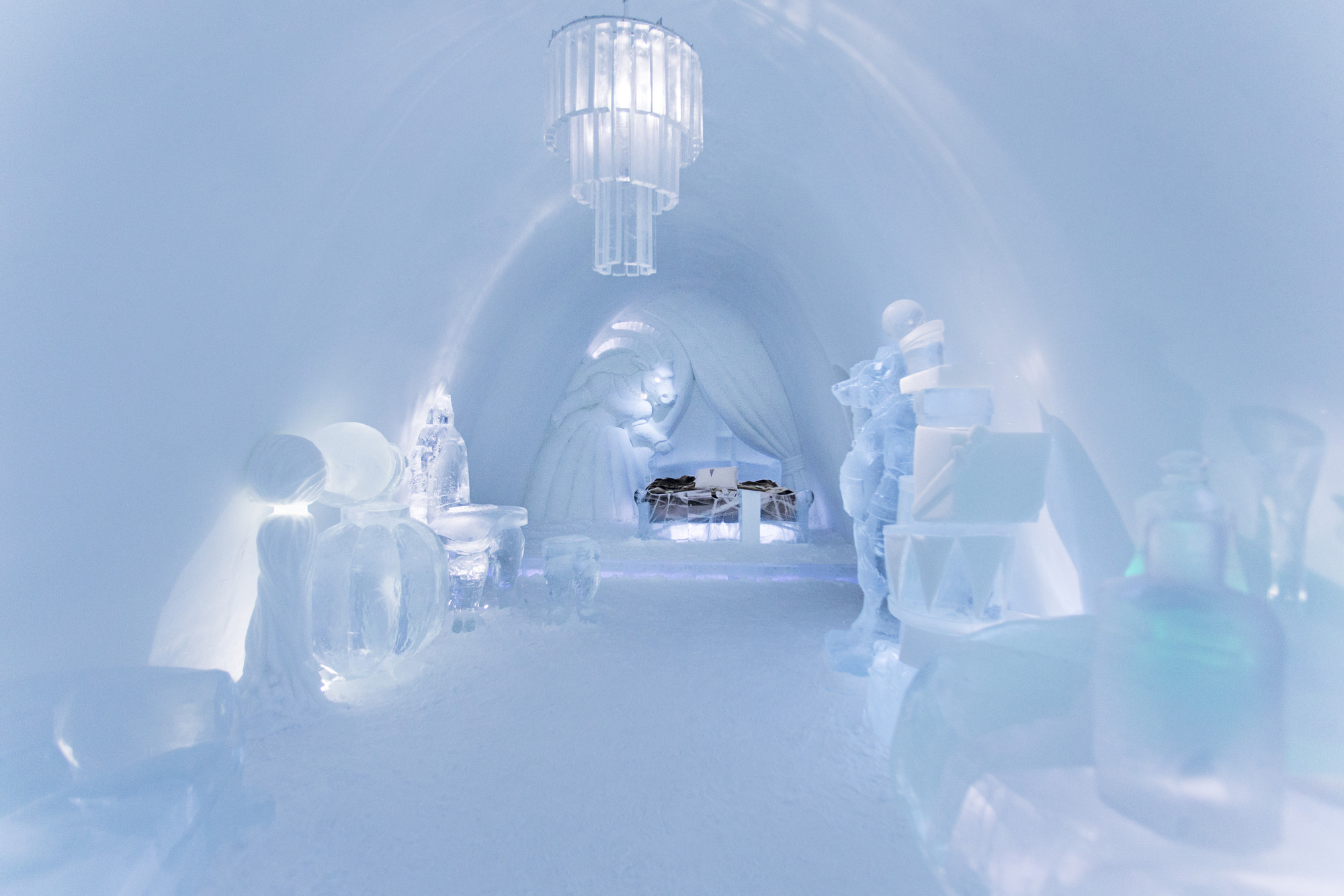 A Place to Chill: Sweden's Ice Hotel