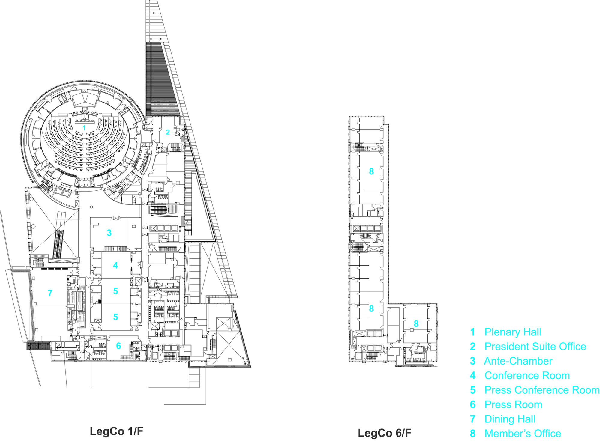 Triangular Floor Plan Gallery Of Hksar Government Headquarters Rocco Design