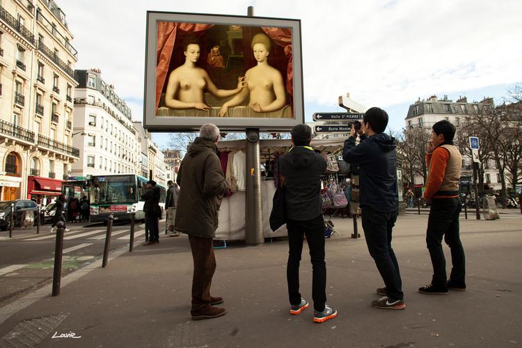 """""""OMG, Who Stole My Ads?"""": A apropriação do espaço público através da arte, Cortesia de etiennelavie.fr"""