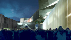 Competition Entry: Moscow's National Centre for Contemporary Arts / WAI Think Tank