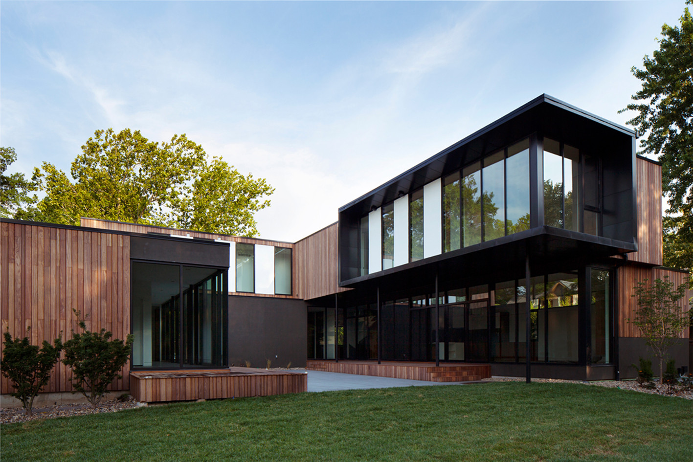 Gallery of baulinder haus hufft projects 7 for Modern cube house design