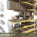 Special Mention, Interior Architecture: High_Res / Andrew Isaac Ng, Max Obata, Daniel Kobran (Canada-USA). Image Courtesy of d3