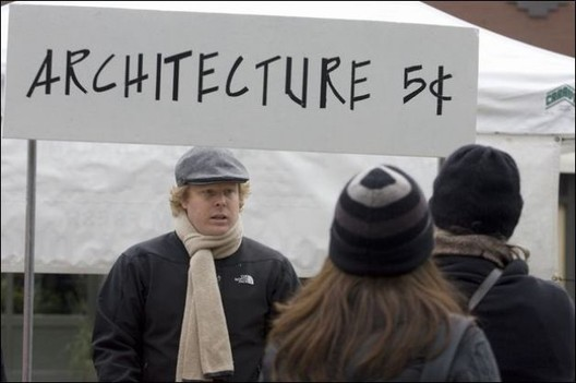 Why Do Architects Keep Struggling to Get By?, Courtesy of Jim Bryant/Seattle Post-Intelligencer