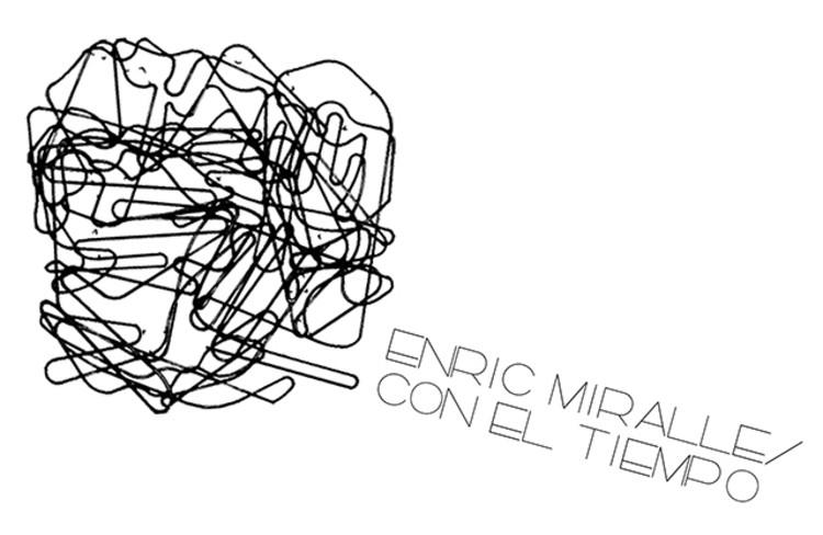 Exposición Enric Miralles con el tiempo / Barcelona