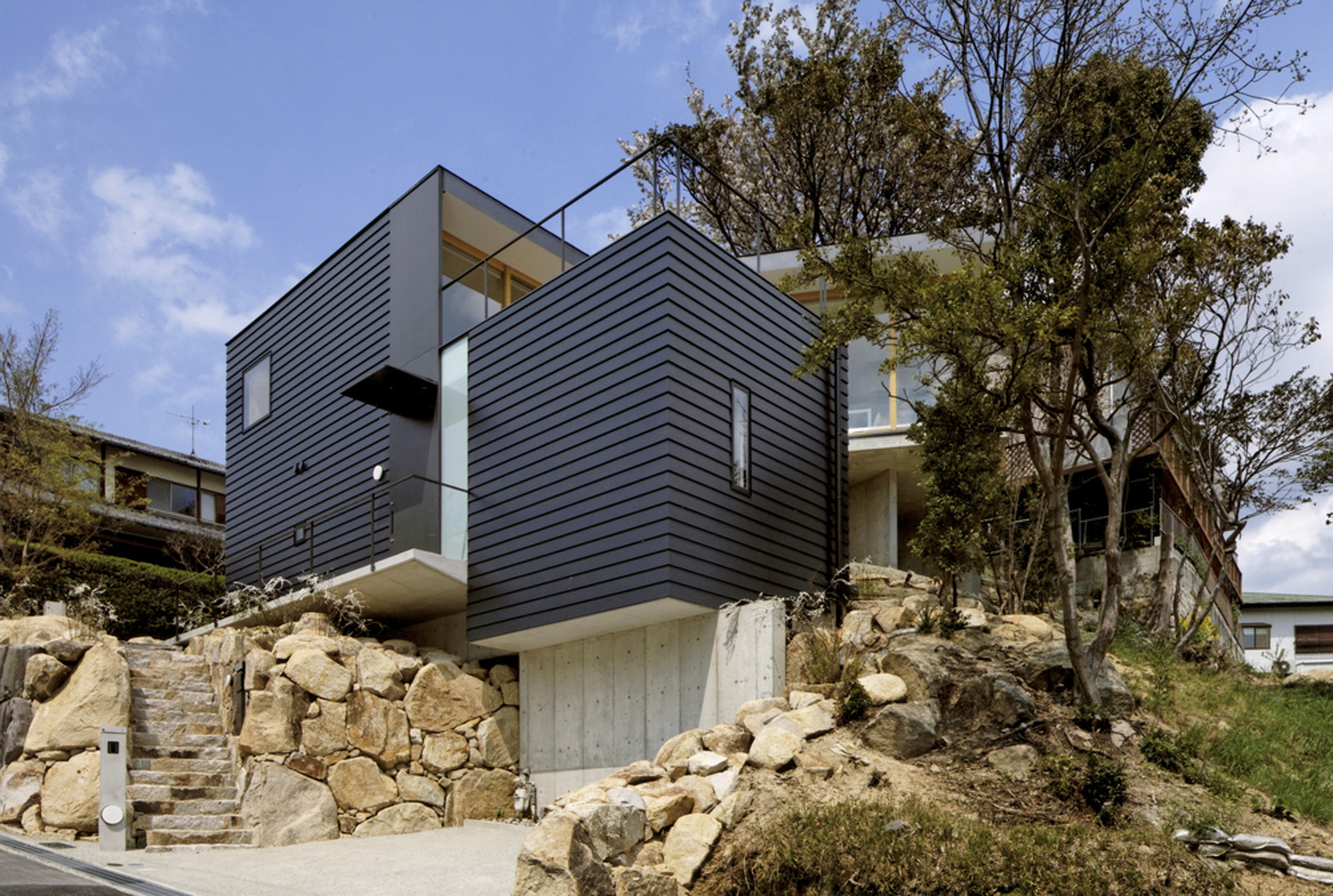 Krampon House / Shogo Aratani Architect & Associates, © Yutaka Kinumaki