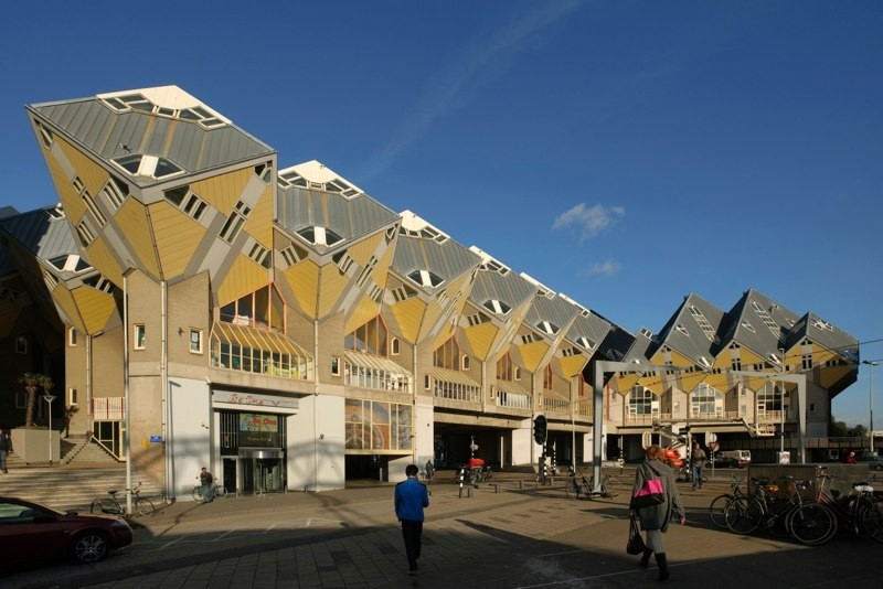 Ad Classics Kubuswoningen Piet Blom Archdaily
