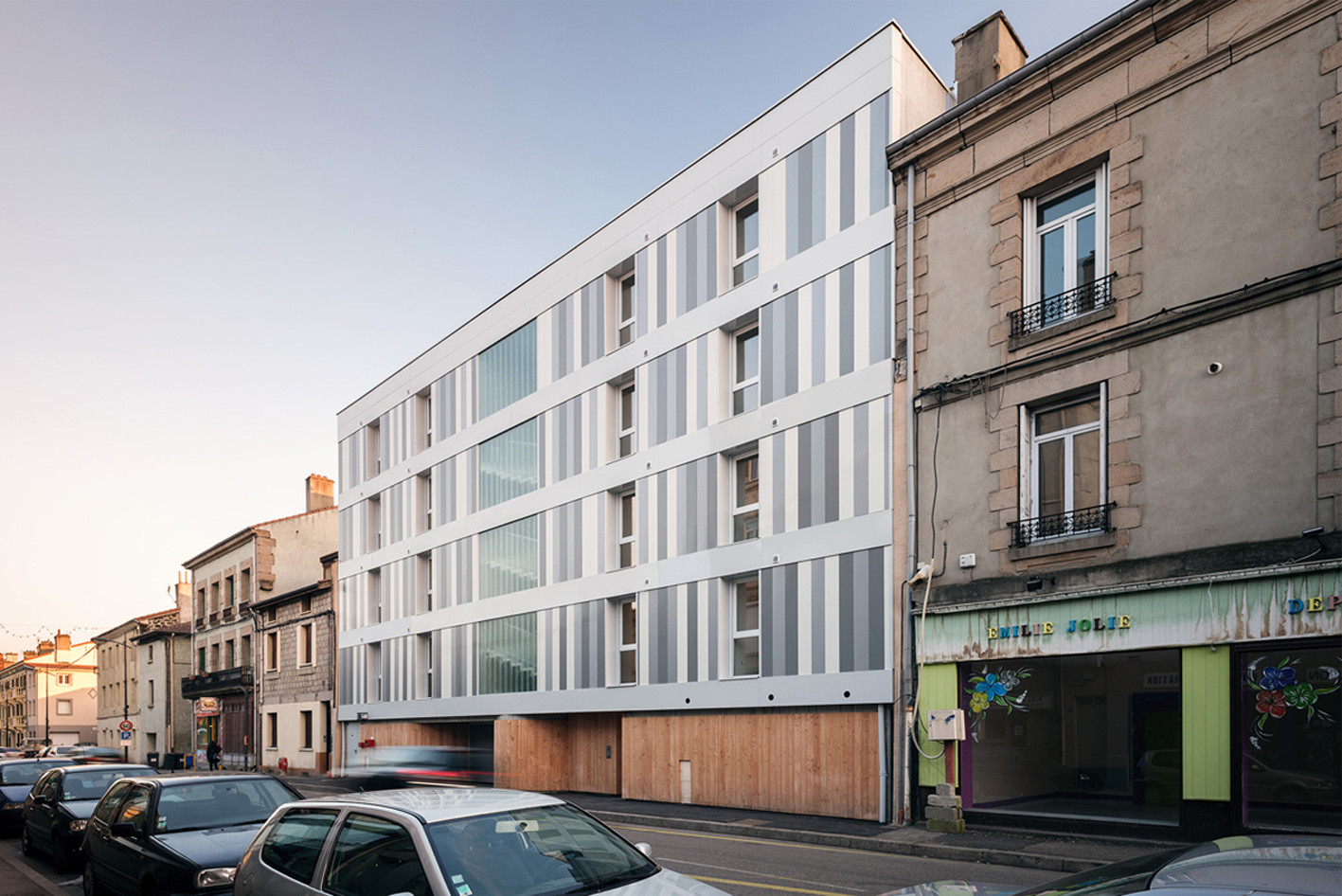 11 Social Housing Units / Zoomfactor Architectes, © Sa2t Grand-Angle-Photographie
