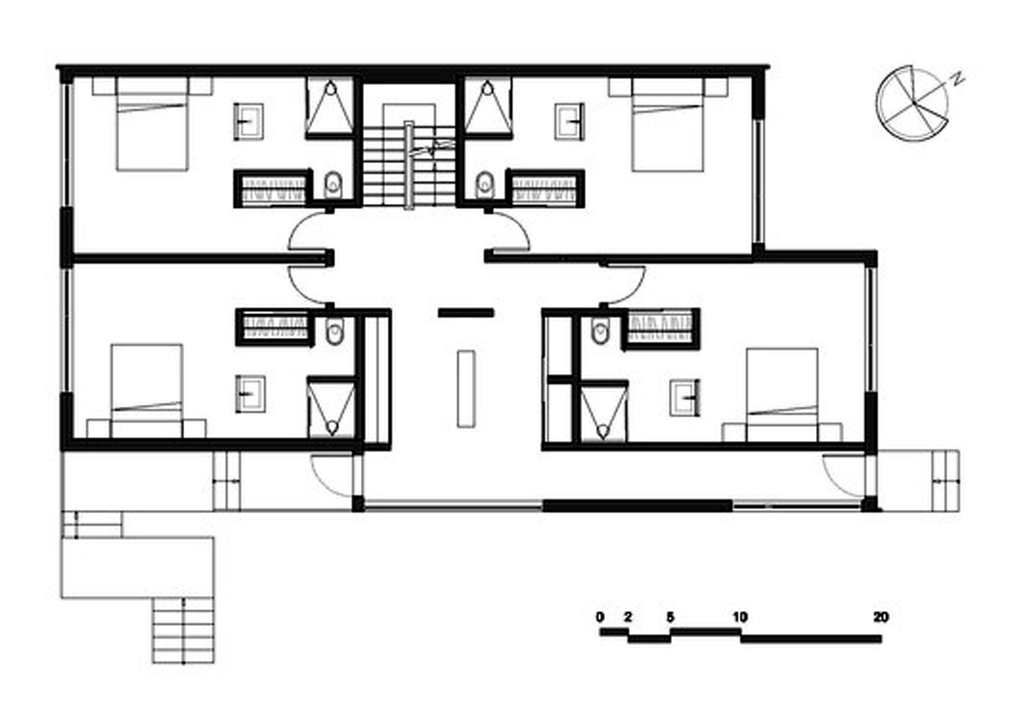 Gallery of malbaie viii residence mu architecture 24 for Croquis de casas para construir