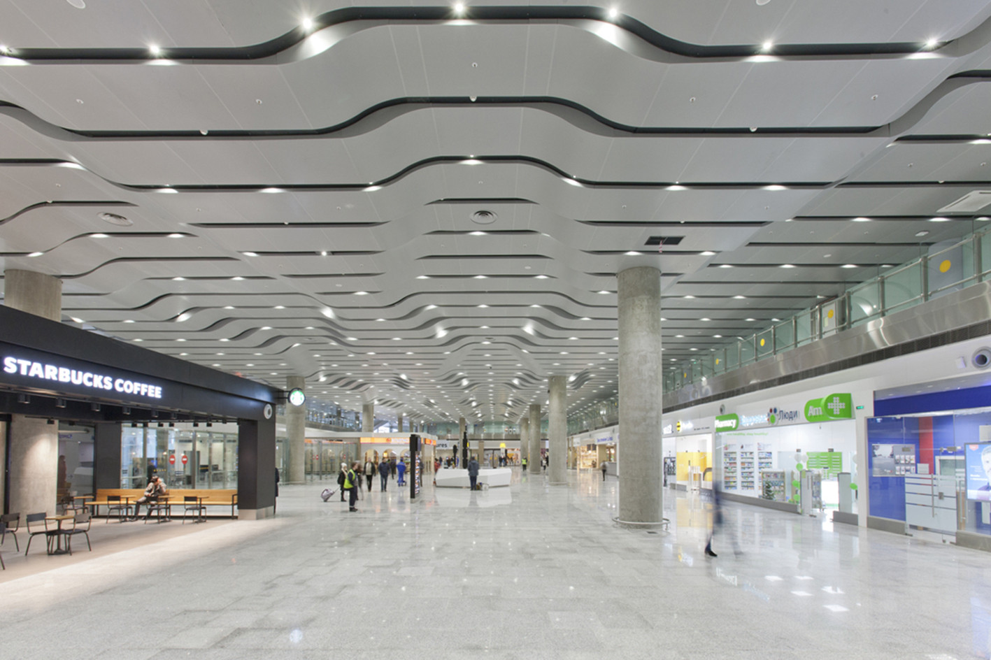 Pulkovo International Airport: description and infrastructure 33