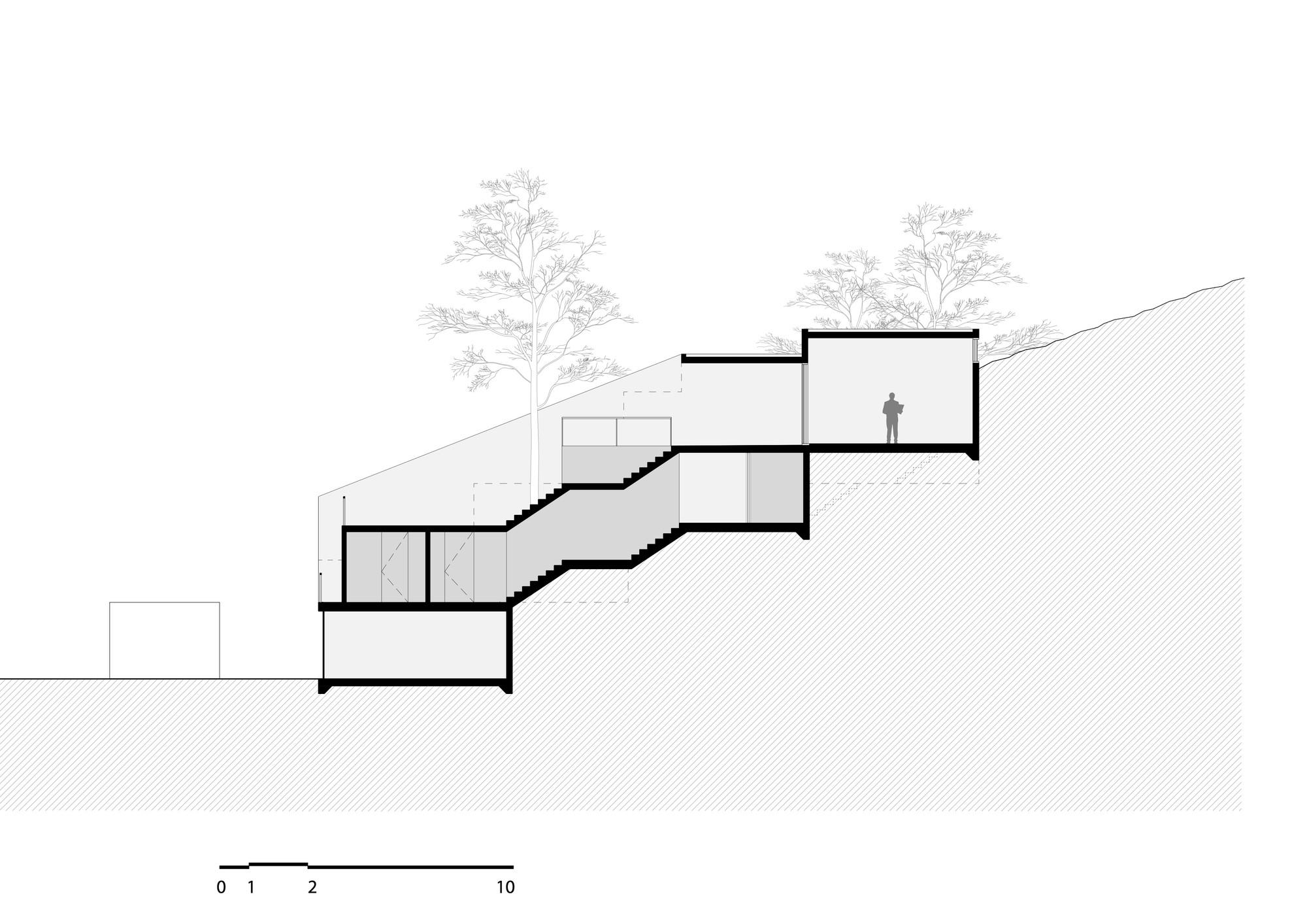 Gallery Of House Of Stairs Dellekamp Arquitectos 14