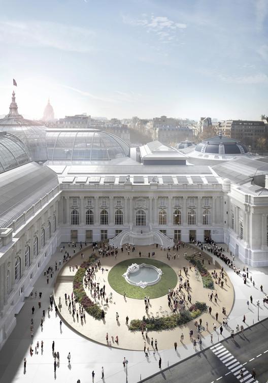LAN escolhido para restaurar o Grand Palais de Paris, © LAN