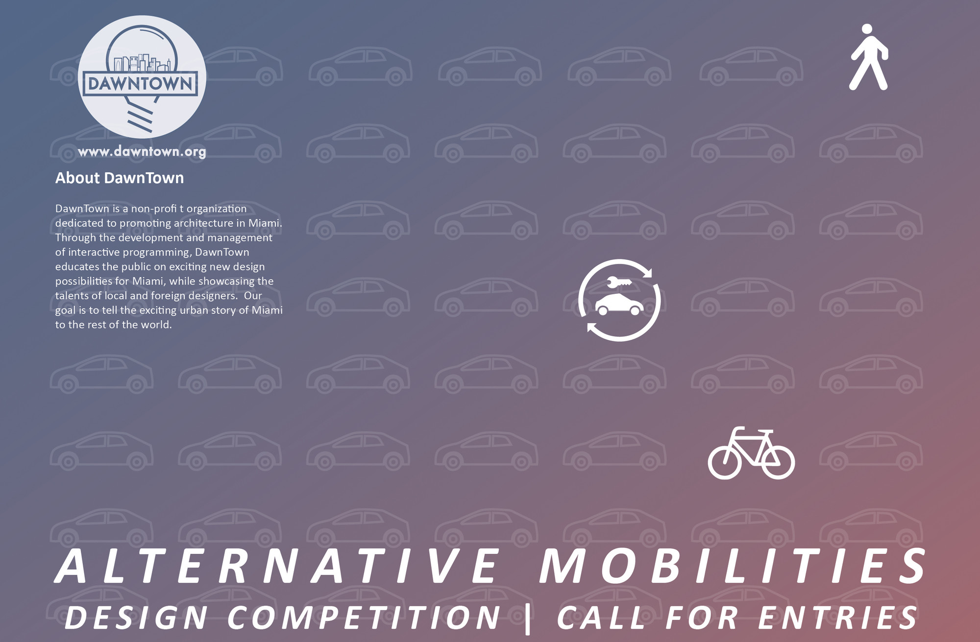 DawnTown - Architecture Ideas Competition: Alternative Mobilities