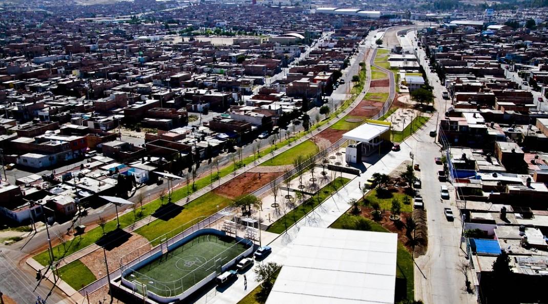 Parque Ecológico Línea Verde: El caso de reconversión urbana de Aguascalientes en México, Courtesy of citiscope.org