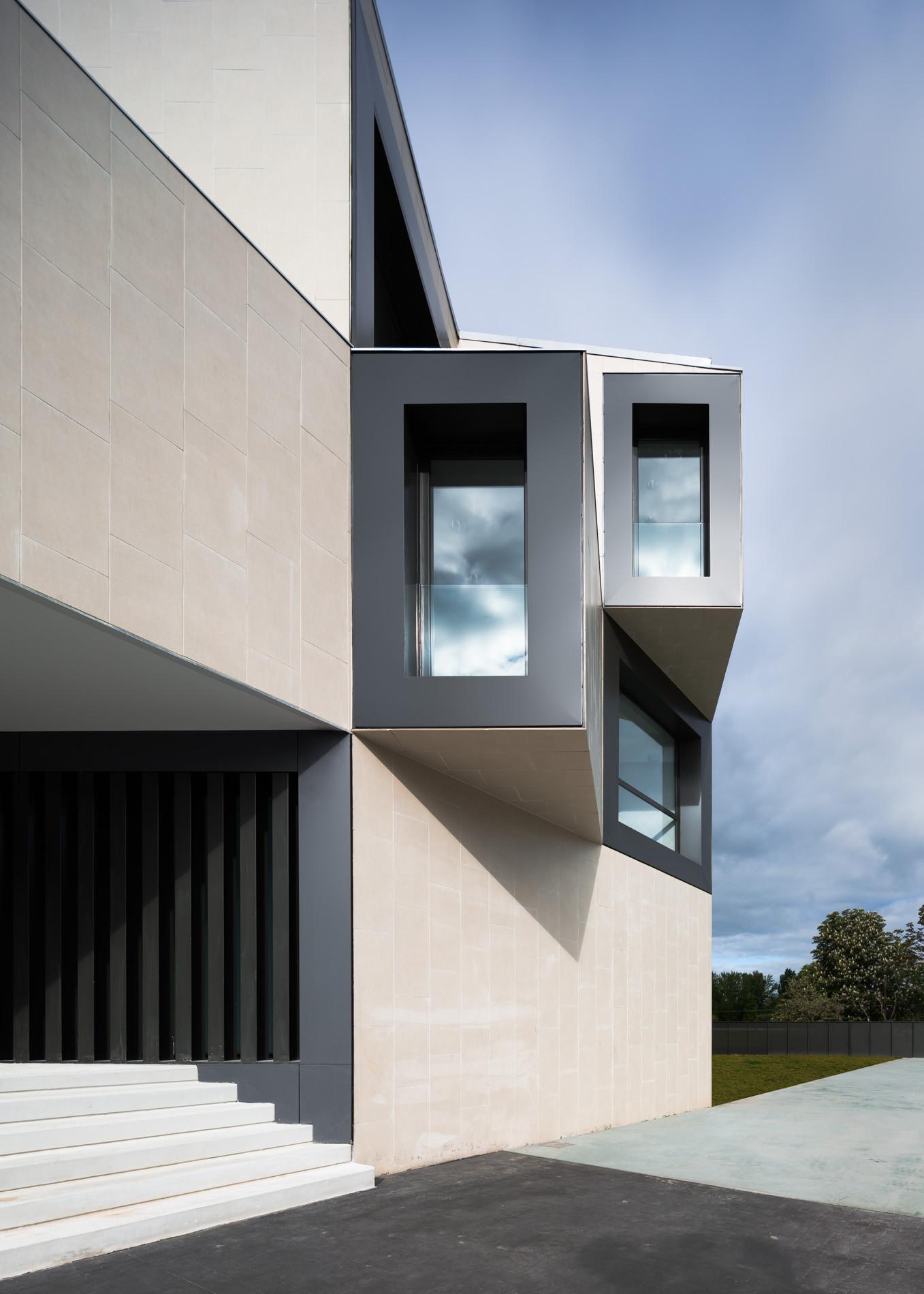 Galer a de nuevo edificio para el colegio el redin en - Arquitectos en pamplona ...