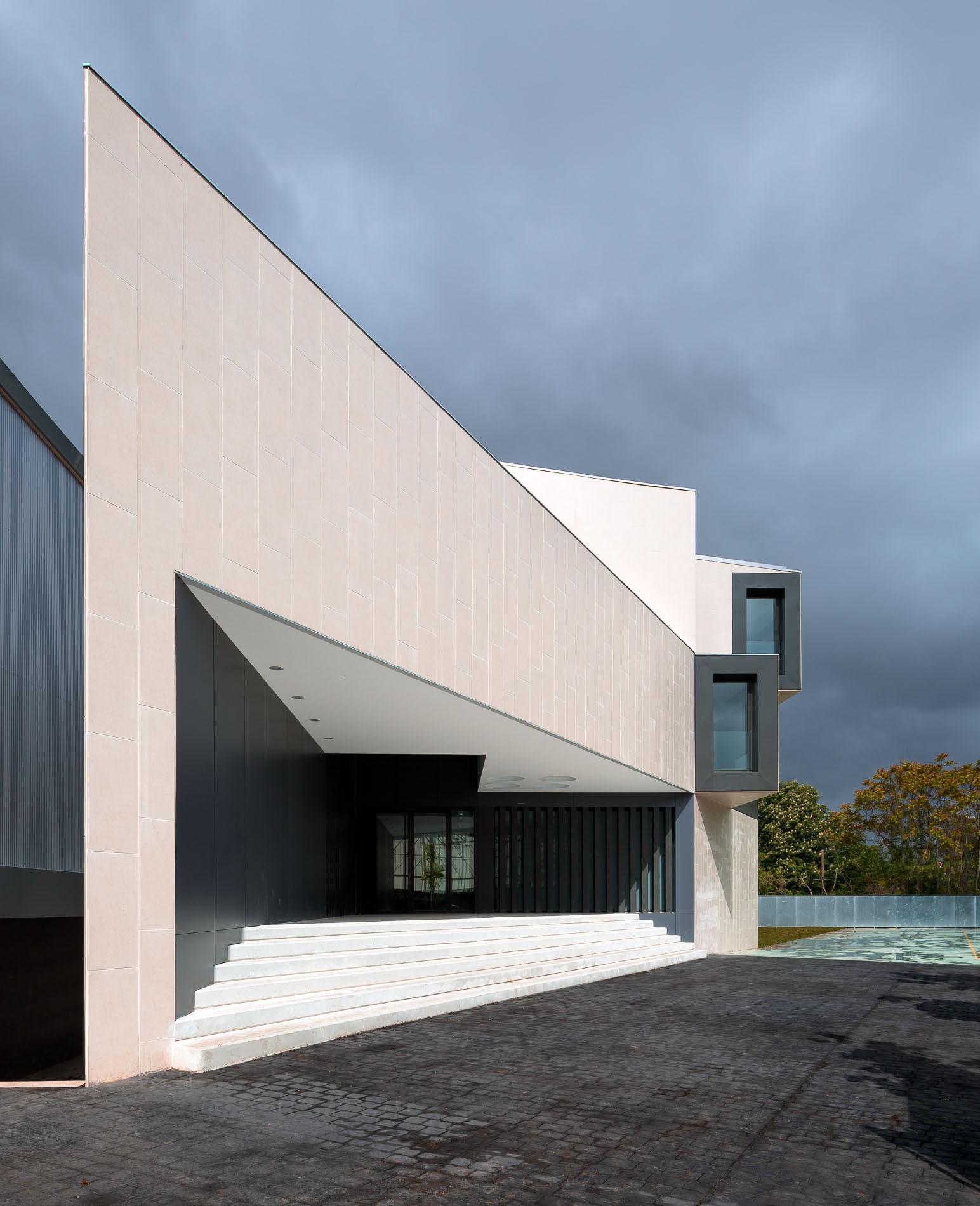 Galer a de nuevo edificio para el colegio el redin en pamplona otxotorena arquitectos 5 - Arquitectos en pamplona ...