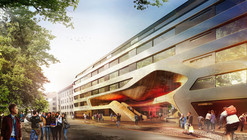 GRAFT Wins Competition to Restore and Extend Youth Hostel in Munich
