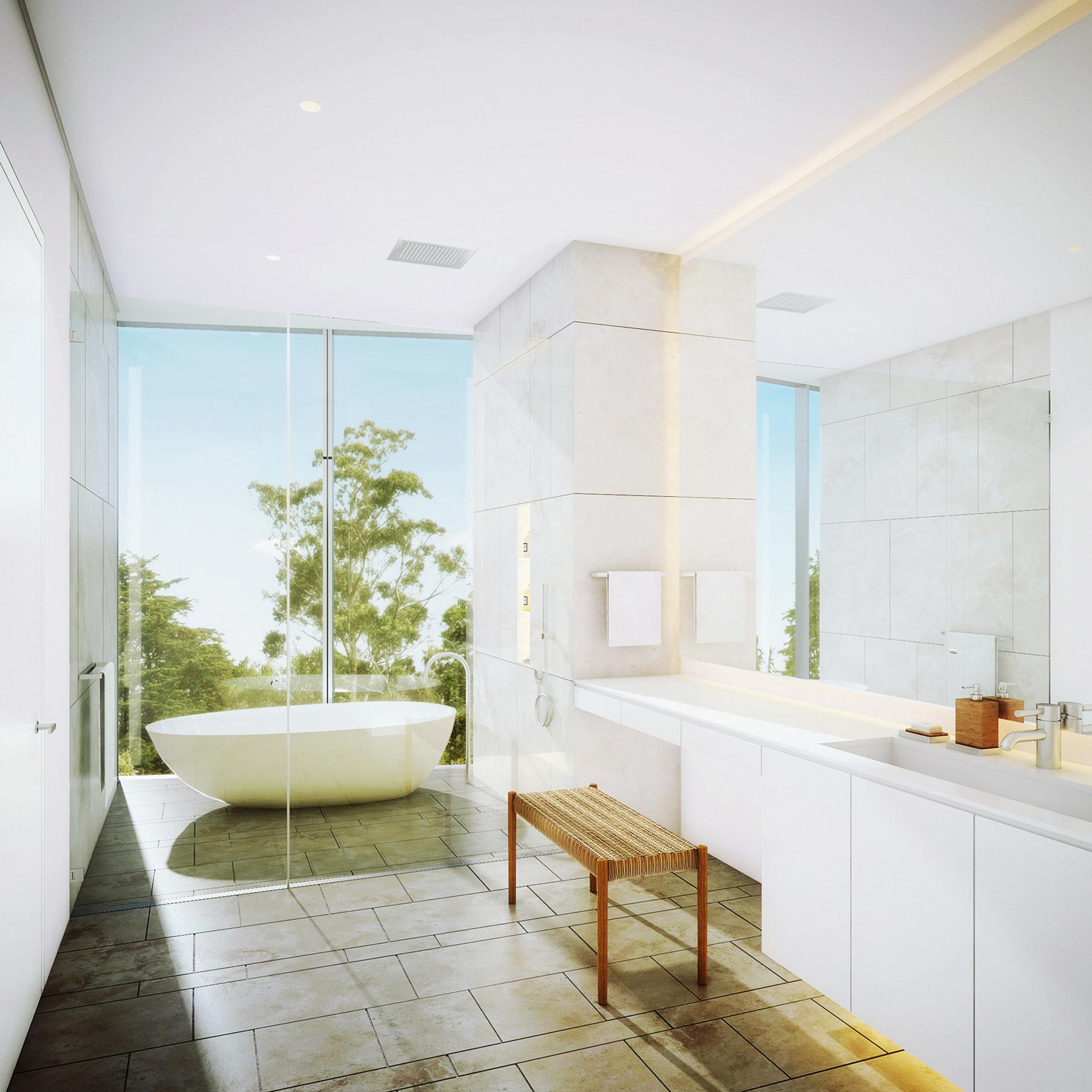 Gallery of Richard Meier Designs Two-Tower Residential Development ...