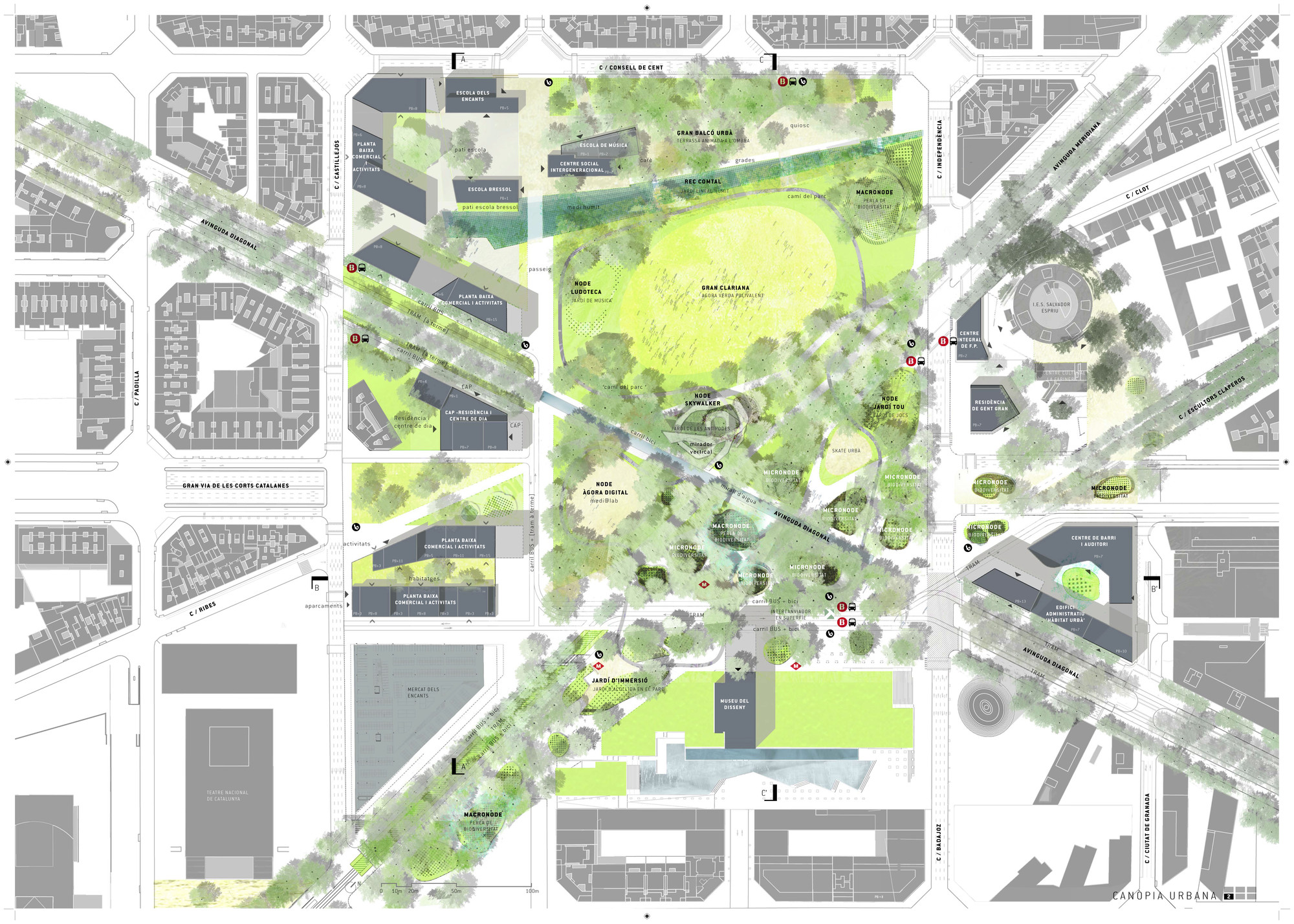 Galer A De Primer Lugar Concurso Plaza De Les Gl Ries