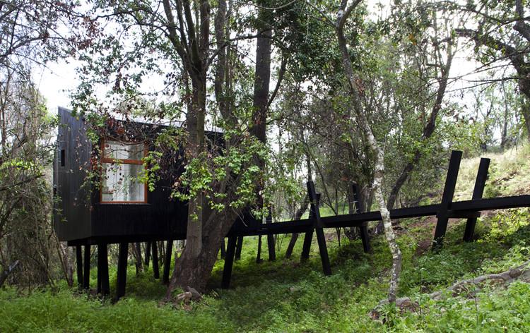 Casa Quebrada / UNarquitectura, © Natalia Vial