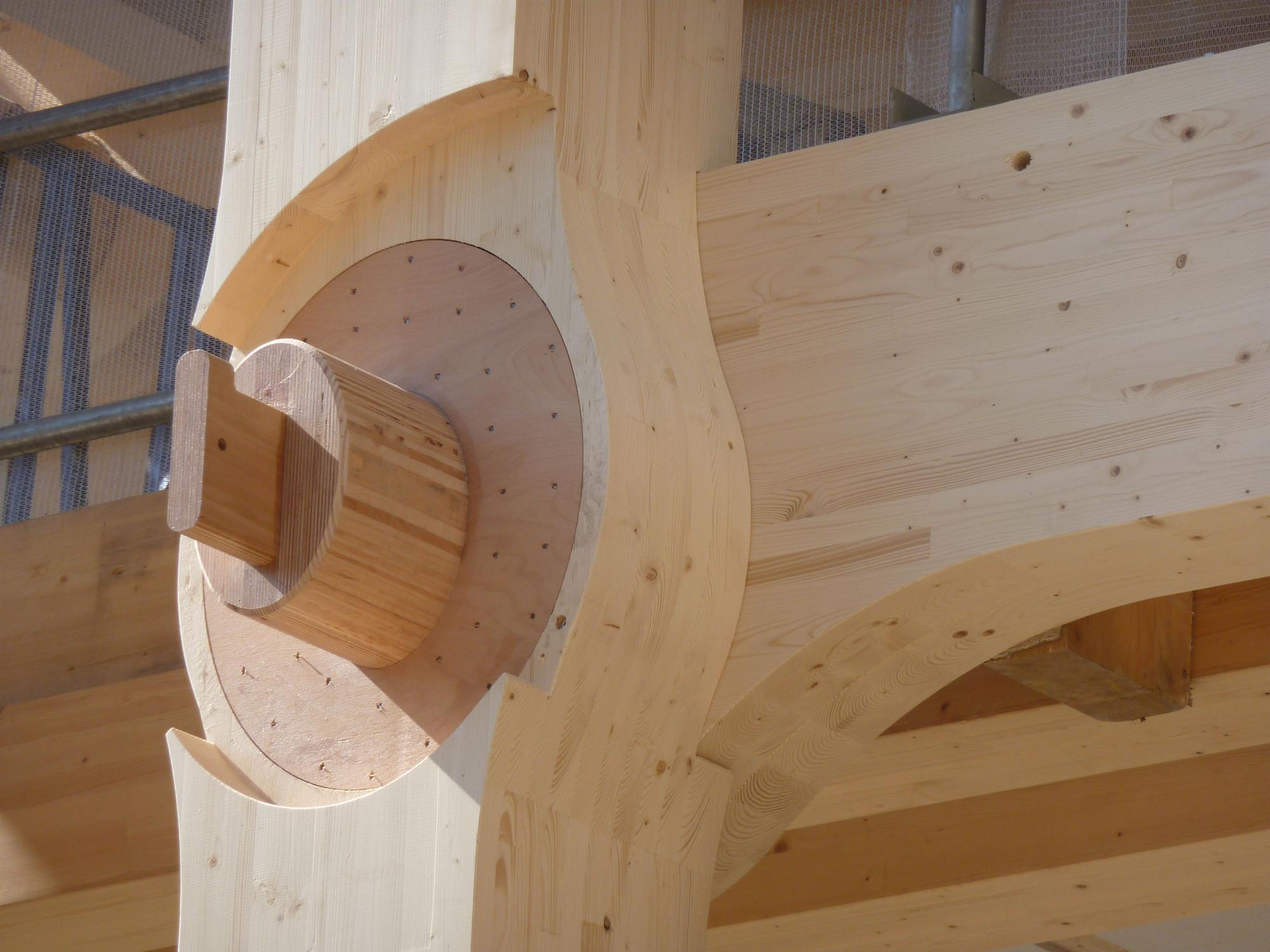 En Detalle: Sistema de ensambles Oficinas Tamedia, Shigeru Ban Architects, © Shigeru Ban Architects