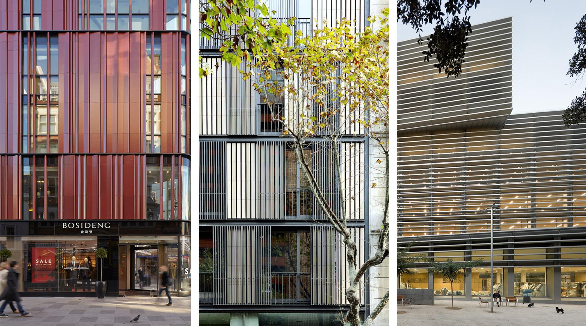 Edificios protecci n solar en fachadas plataforma - Fachadas arquitectura ...