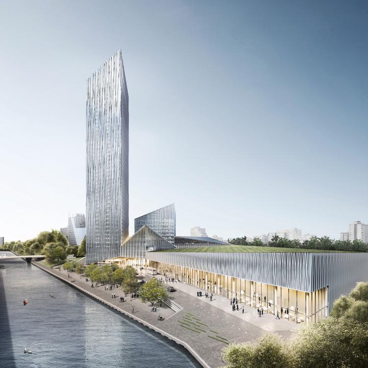 Barkow Leibinger vence competição para a torre mais alta de Berlim, Visualization. Image © Barkow Leibinger / bloomimages