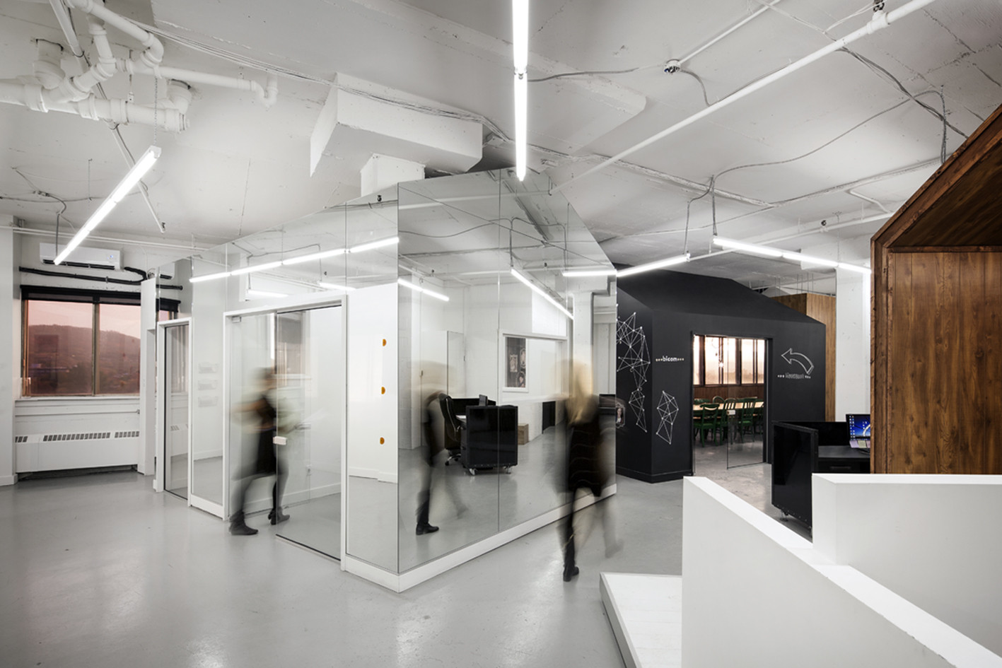 creative agency office. Adrien Williams Creative Agency Office