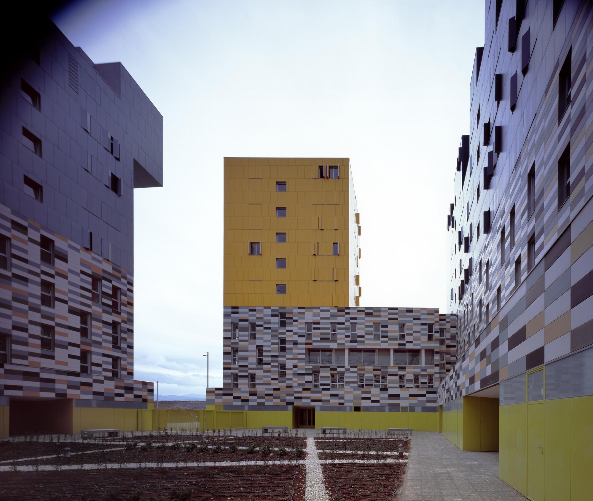 Galer a de 177 viviendas de protecci n oficial en vitoria matos castillo arquitectos 2 - Arquitectos en vitoria ...