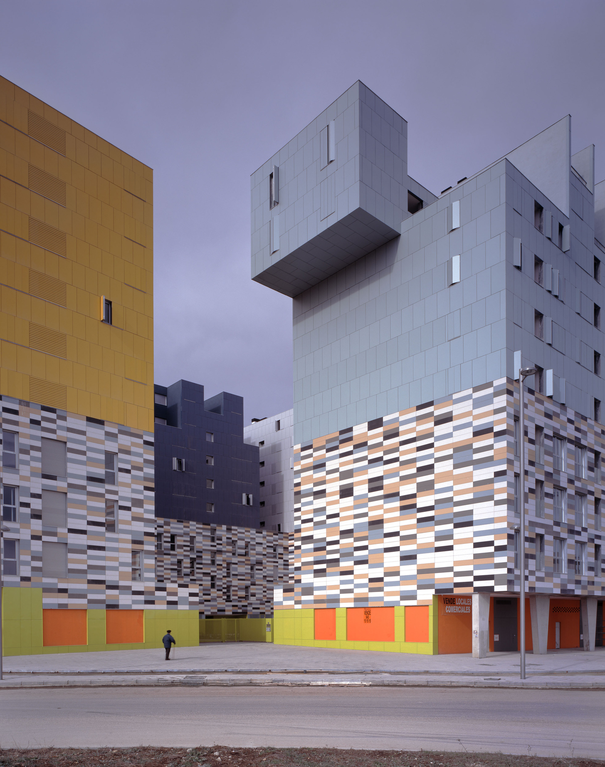 Galeria de 177 apartamentos subsidiados em vitoria matos - Arquitectos vitoria ...
