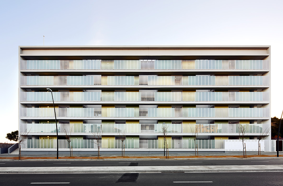 Social Housing in Terrassa  / TAC Arquitectes, © José Hevia
