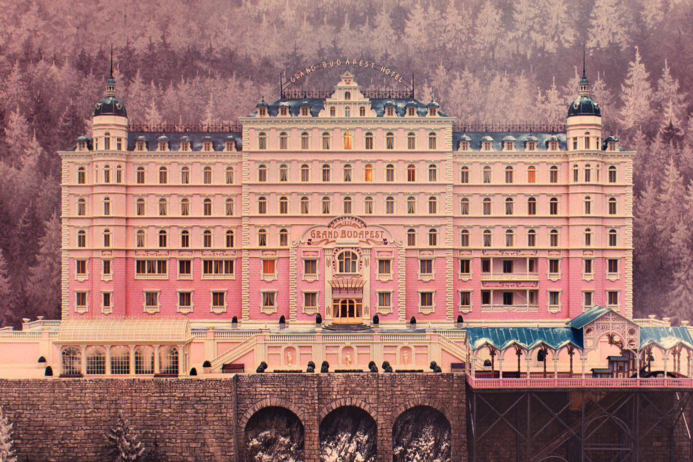 "Cine y Arquitectura: ""The Grand Budapest Hotel"", © Fox Searchlight Pictures"