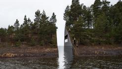 """Arquitectura y Paisaje: """"Memory Wound"""" - Monumento en homenaje a las victimas de la masacre en Noruega"""