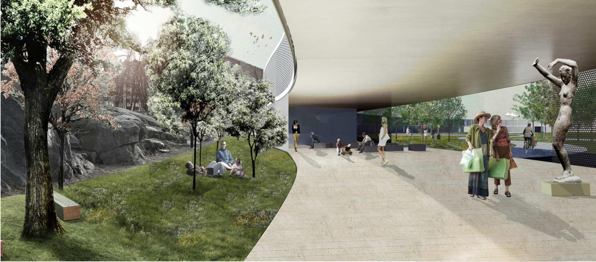Ganador EUROPAN12: La Ciudad Adaptable. Inserción de Ritmos Urbanos, Imagen 01. Image Courtesy of Sensorial Hug