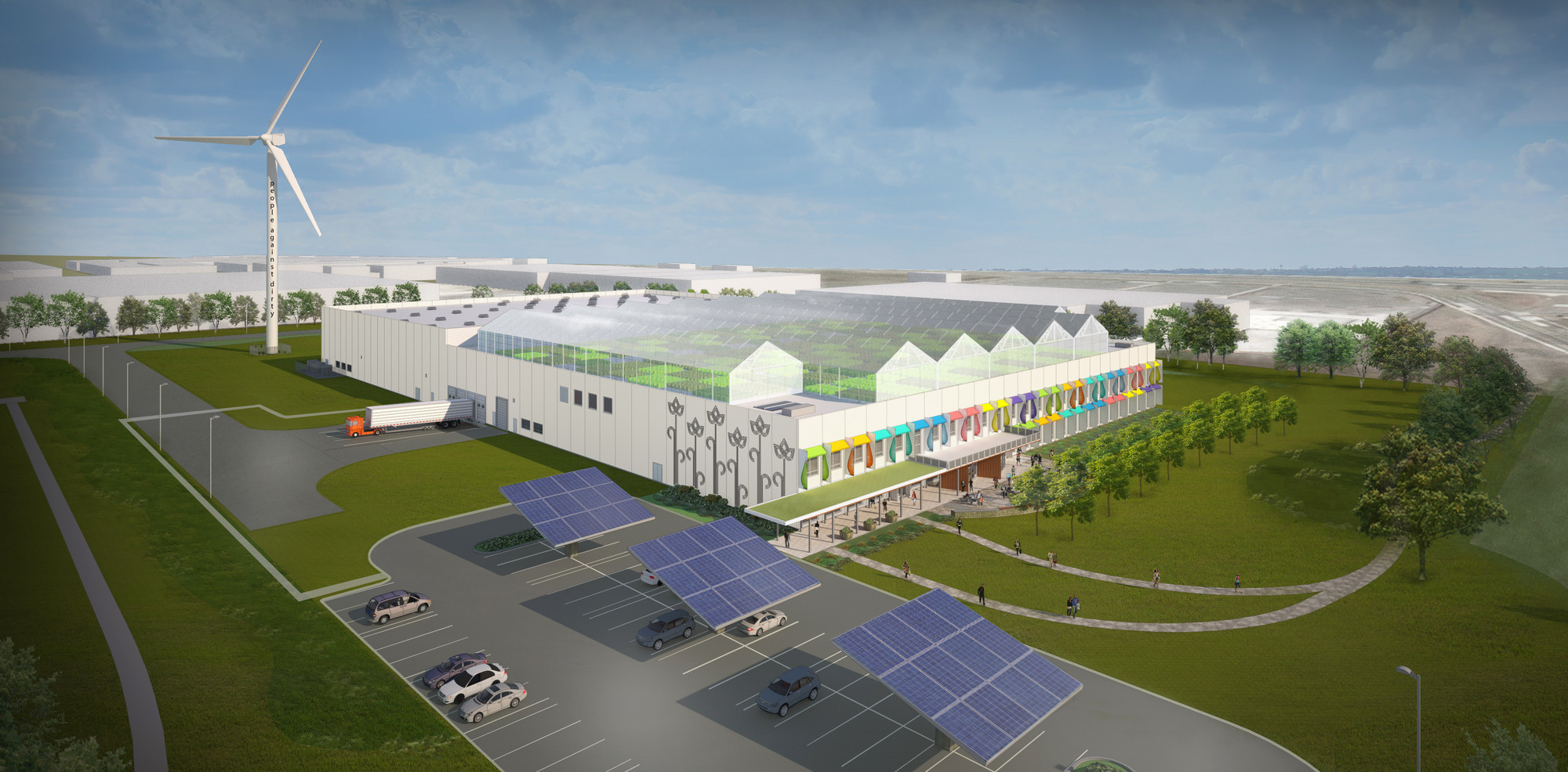 "William McDonough Designs Ultra ""Clean"" Manufacturing Facility for Method, © William McDonough + Partners"